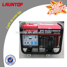 10kw welding generator set with 4-stroke,air-cooled, twin-cylinder 20hp engine
