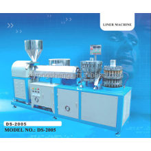 plastic lining machine cover dropping machine (DS-2005)/Machinery bottle cap with plastic insert(TPE)