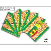 Étiquette à manches rétractables pour boîtes