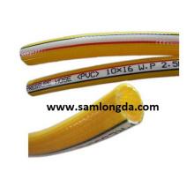 Mangueira de ar amarelo Superflex / mangueira de pulverização / mangueira de PVC