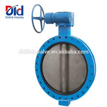 24 Inch Seat 3 Way Nibco Flanged Design Standard Pdf Pn16 Cv U Type Butterfly Valve Double Flange