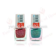 haute qualité coloré vide bouteille de vernis à ongles avec polonais en gros en Chine