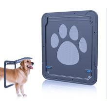 Porta da tela do cão de Wrcibo Auto porta do animal de estimação que trava a porta magnética do gato interna / exterior