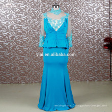 RSE679 Custom Made Trumpet Mermaid Fat Sexy Mother Of The Bride Dresses With Sleeves