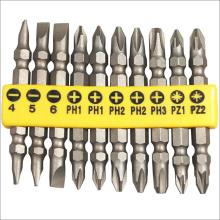 Outils de travail des métaux 10PCS Power Screwdriver Bits Sethardware