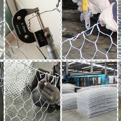 Welded Gabion Fence