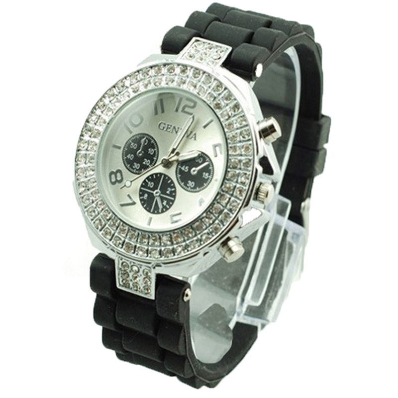 New Fashion Colorful Girls Silicone Wrist Watch