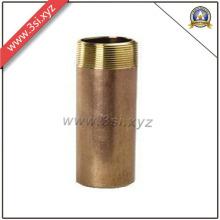 Qualidade superior ANSI B 16.11 rosca macho cobre barril mamilo (YZF-NM560)