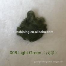 dyed and raw white viscose staple fiber