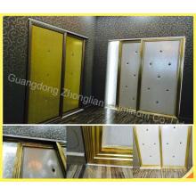Quadro de porta de alumínio personalizado do vestuário para a factura do vestuário