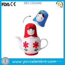 Großhandel Beauty Girl Design Japan Teekanne mit Tasse