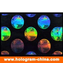 Прозрачные изготовленные на заказ 3D лазерное идентификатор наложения мешок