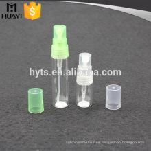 frascos vacíos pequeños de perfume de vidrio para frascos de muestra de perfume
