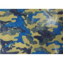 420d tela de poliéster de camuflaje con revestimiento de PU