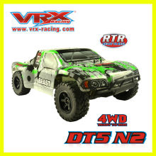 1/10th масштаба 4WD безщеточный краткий курс RC грузовик в радио управления игрушки