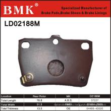 Тормозные колодки улучшенного качества (D2188M)