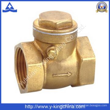 Válvula de retención de latón forjado (YD-3009)