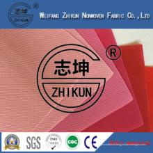 Tissu non-tissé de pp Spunbond pour des sacs à provisions de marché
