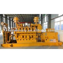 Generador de gas duradero 600kw rendimiento