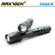 Maxtoch ZO6X-2 cris 18650 Rechargeable Zoom optique lampe de poche