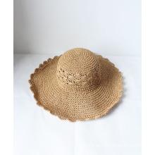 Sommer Trendy Hollow-out Outdoor Sonnenschutz Stroh Hüte Sombrero