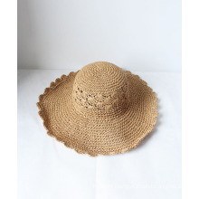 Summer Trendy Hollow-out Outdoor Sun Protection Straw Hats Sombrero