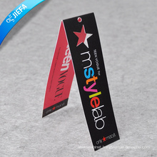 Custom Folded Hang Tag for Clothing