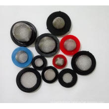 60 100 micron 304 316 stainless steel rubber washer filter mesh cap for sink strainer