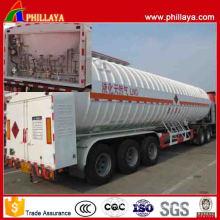 BPW Tri Axles Low Price Cryogenic Liquid LNG Trailer
