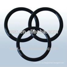 anillo o junta de goma negra / o