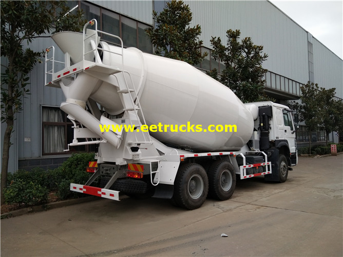 10 Wheel Beton Transit Mixer Trucks