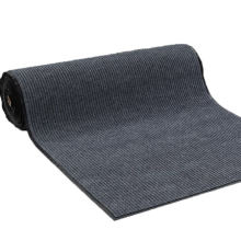 100%polyester high quality small stripe door mat