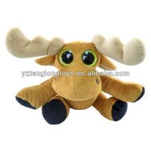 "Moose Big Eyes Plush Toy 6 ""Peluche"