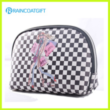 PVC Leather Plaid Wholesale Makeup Bags