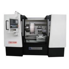 Tour CNC économique de la roue Ck6180W avec le système de mise à niveau