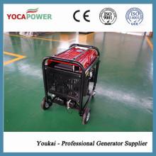 Generación 4kw y soldadura y compresor de aire integrado por el motor de gasolina