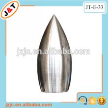 Beliebtesten Moderne prägnante Stil flexible Metall Vorhang Stange Stange Vorhang Finial