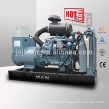 60HZ 400kva generator with Germany MAN engine 320kw MAN diesel generator set