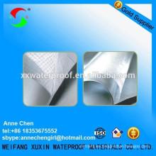 Membrana impermeable de pvc de cloruro de polivinilo de 1,2 mm