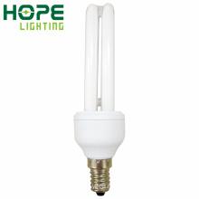 2у Е14 9W энергосберегающие лампы CE/утверждение RoHS/ISO9001 одобрил