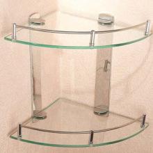 Закаленная стеклянная полка, используемая в ванной