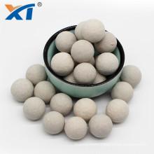 Inert Porcelain Ball Support Media 17%-19% Al2O3 Alumina Ceramic Balls