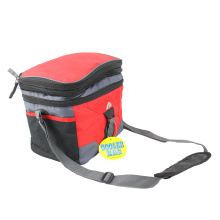 Portable Double-Deck Heat Insulation Cooler Bag
