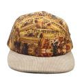 пустой Кемпер шапки галстук краситель плоский brim сублимационная печать 5 панели шляпы