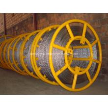 Anti twist wire rope