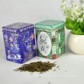 Square Wholesale Tea Tin, estofado promocional, caixa de lata de café