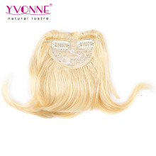 Оптовая высокое качество клип в человеческих волос челка