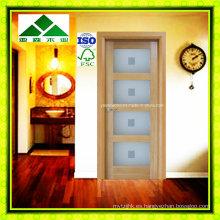 Lite / Glass Shaker Panel White Oak Puerta francesa