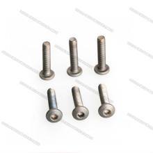 Titanium Hex Socket Pan Head Screws Allen Screws for Drones/Helicoper Best price DIN912 Titanium Screws