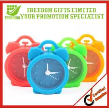 Promotion Geschenke Multi-Color Mini Schöne Silikon Wecker